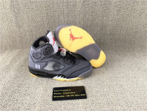 Authentic Air​ Jordan 5 x​off white AJ5 ow 3M