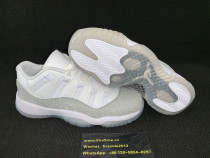 Authentic Air Jordan 11GS Metallic Silver