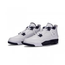 Authentic Air Jordan 4 Retro GS Columbia