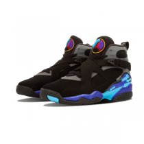 Authentic Air Jordan 8 Retro GS Aqua