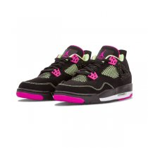 Authentic Air Jordan 4 Retro GS Fushsia