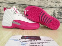 Authentic Air Jordan 12 Retro GS Dynamic Pink