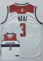 Washington Wizards #3 Bradley Beal New White Home Stitched NBA Jersey