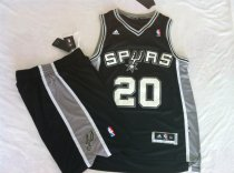 The spurs suit #20 black