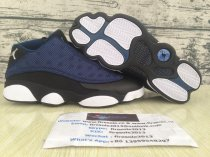 Authentic Air jordan13 retro Navy