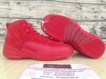 Authentic Air Jordan 12 Retro GS Red Suede