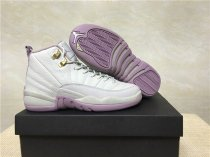 Authentic Air Jordan 12 Retro GS Heiress Plum Fog