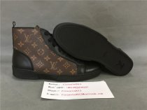 Authentic LV High Top Sneaker Brown