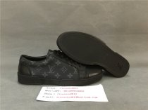 Authentic LV  Leather Sneaker Black