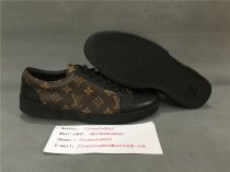Authentic LV  Leather Sneaker Brow