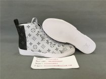 Authentic LV High Top Sneaker Grey