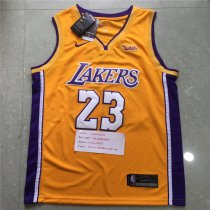 NBA Jerseys 2018 Lakers Yellow