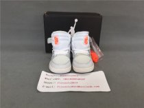 Authentic Off White x Air Jordan Infant All white