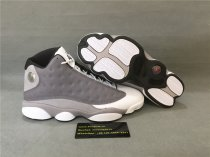 Authentic Air Jordan 13s Retro Grey/White
