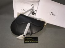 Authentic Dior Saddle Bag Black