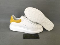 Authentic Alexander MQueen Sneaker White/ Yellow