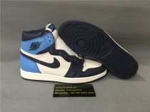 Authentic Air jordan 1s High OG Blue/White