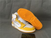 Authentic Off White xAir Jordan 1 NRG White\Power Yellow-Cone