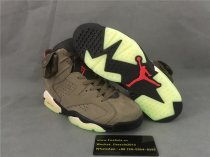 Authentic Air Jordan 6 Retro Green Infrared-Black Vert