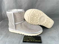 Authentic UGG Ankle Boots Silver Flicker
