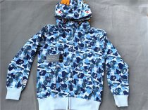 Authentic Bape Hoodie Blue
