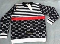 Authentic Guccl Sweater Black and White