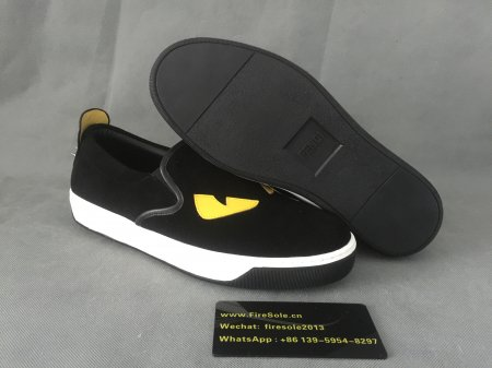 Authentic Fendi Sneakers Black