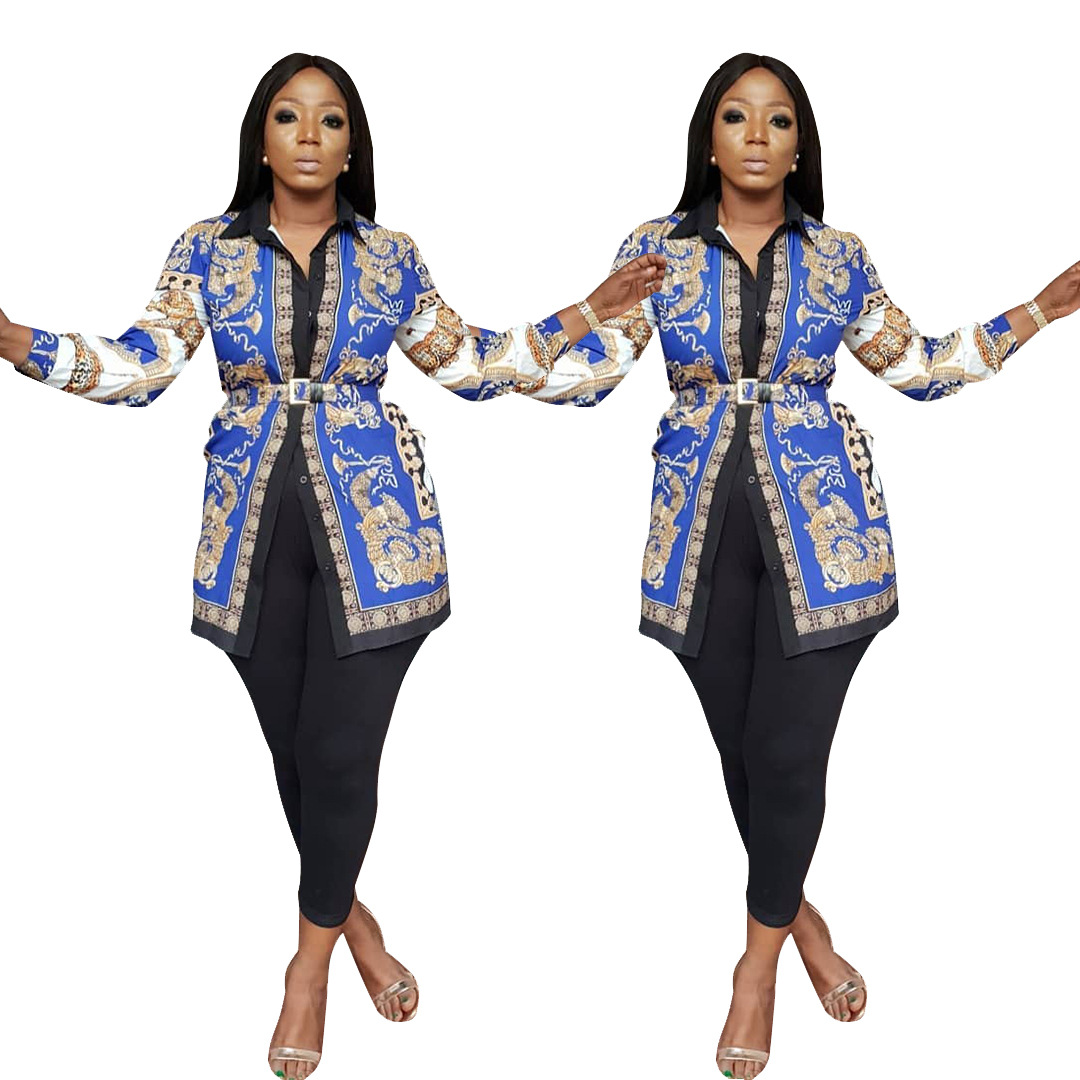 38aa133c845 US  9.15 - Print Retro African Blouse - www.global-lover.com