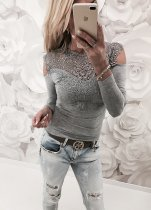 Sexy Crochet Top with Sleeves DI_17432-2
