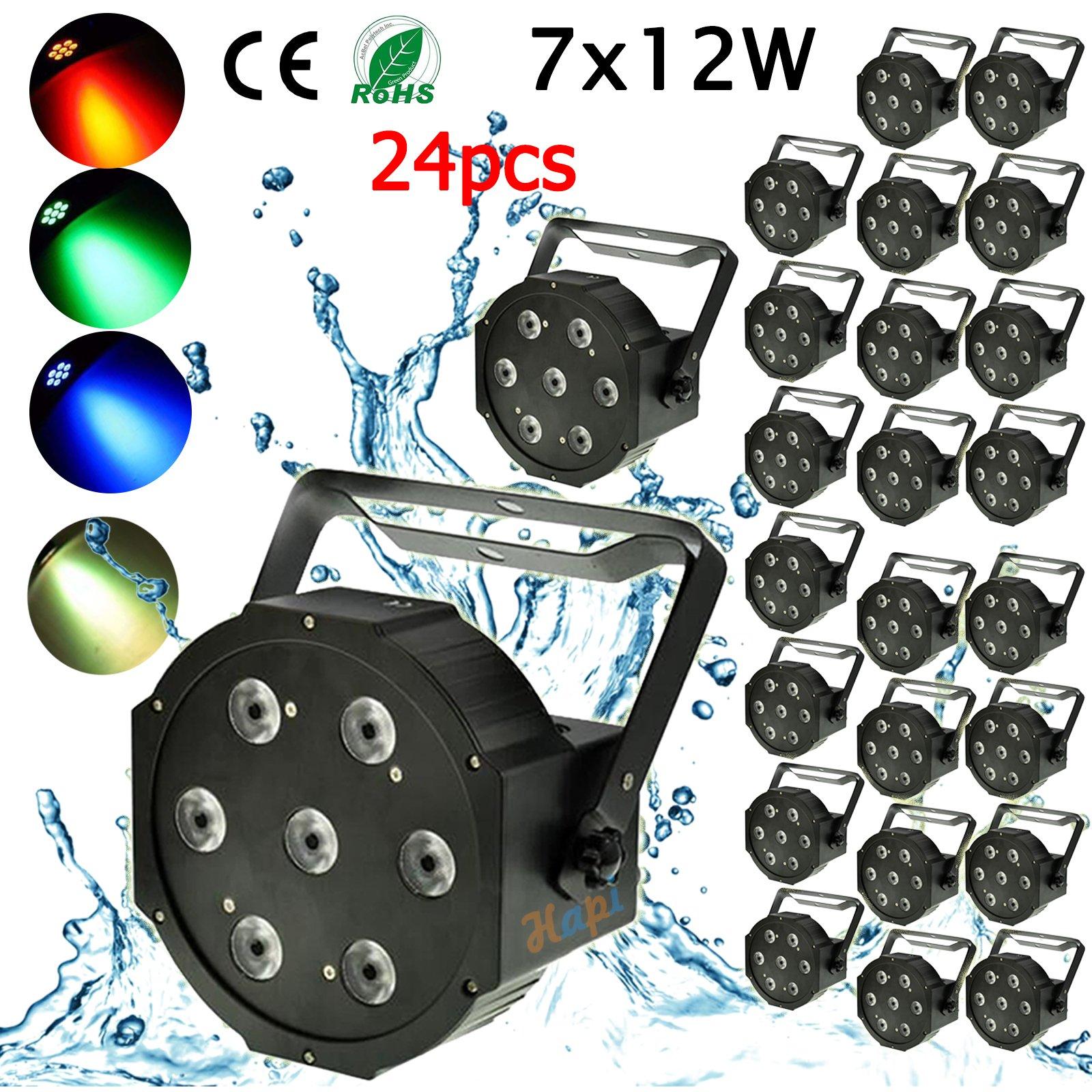 24PCS 7X12W DMX 512 RGBW 4IN1 LED PAR LIGHT PAR64 CAN FLAT 84W FOR STAGE KTV Item NO 24pcs 7*12w par light  sc 1 st  gbar led light bar & US$ 363.5 - 24PCS 7X12W DMX 512 RGBW 4IN1 LED PAR LIGHT PAR64 CAN ... azcodes.com