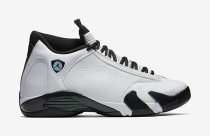 Authentic Air Jordan 14 Retro Oxidized Green