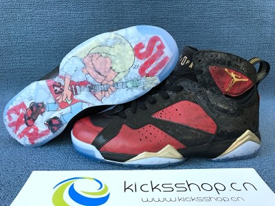 Authentic Air Jordan 7 Retro Doernbecher