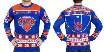 New York Knicks Men's NBA Ugly Sweater