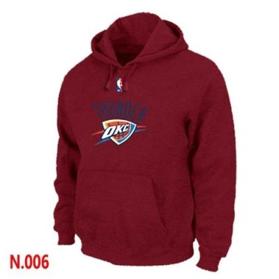 NBA Oklahoma City Thunder Pullover Hoodie Red