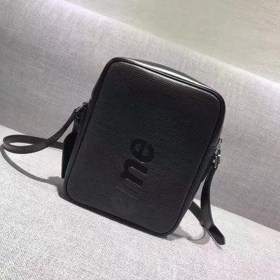 Supreme X LV Shoulder Big Bag Black