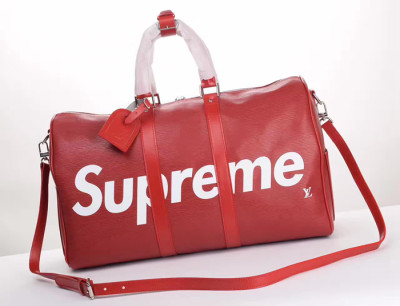 Supreme X LV Travel bag Red