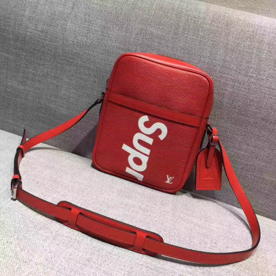 Supreme X LV Shoulder Big Bag Red