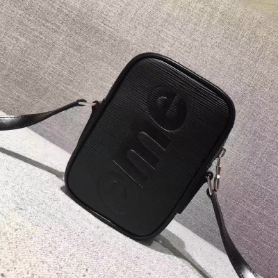 Supreme X LV Shoulder Mini Bag Black