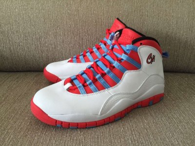 Authentic Air Jordan 10 Retro Chicago 2016