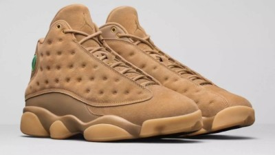 Authentic Air Jordan 13s Wheat