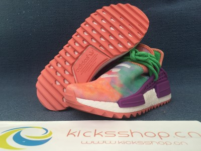 "Pharre11 Williams xNMD Hu Trail ""Holi"" Flash Green"