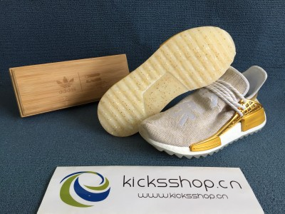 "Pharre11 x Originals Hu NMD 'China Exclusive' ""Happy Gold"""