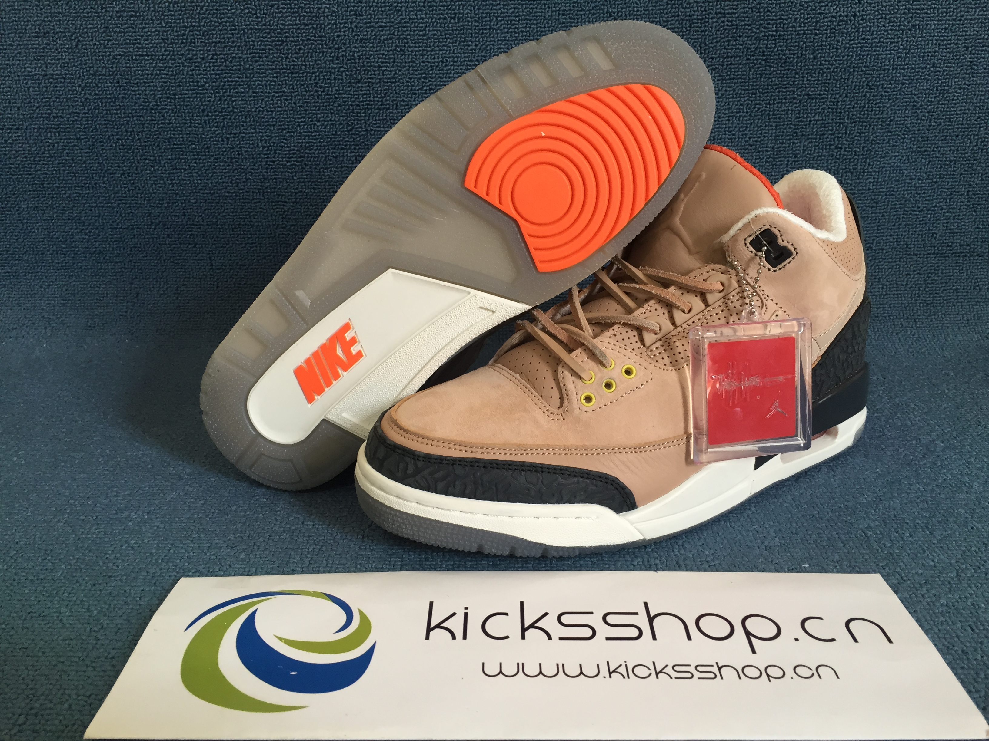 "1994bb61ad5 US  160 - Authentic Air Jordan 3 JTH ""Bio Beige"" - www.kicksshop.cn"