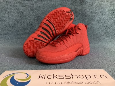 "Authentic Air Jordan 12  GS ""Gym Red"""