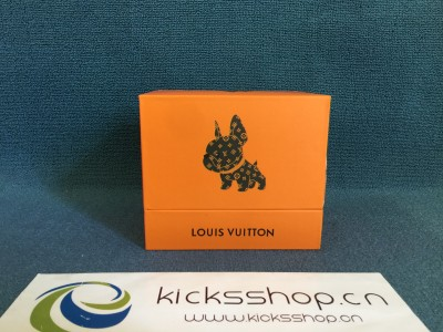 Louis Vuitton French bulldog pendant key chain