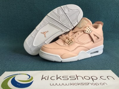 Authentic Air Jordan 4 Rose