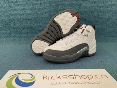 "Air Jordan 12 GS ""Dark Grey"""