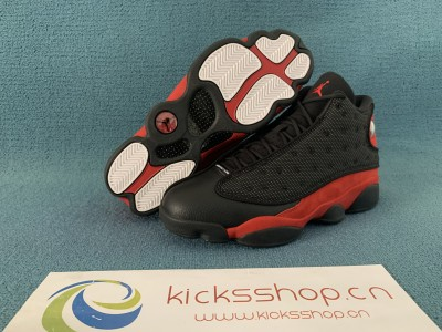 Authentic Air Jordan 13 Retro Bred