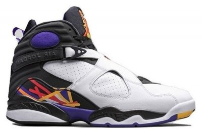 Authentic Air Jordan 8 Retro Three Peat