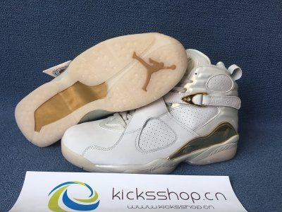 Authentic Air Jordan 8 Retro Champagne